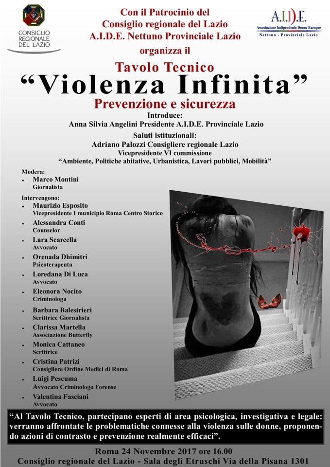 Violenza infinita: prevenzione e sicurezza